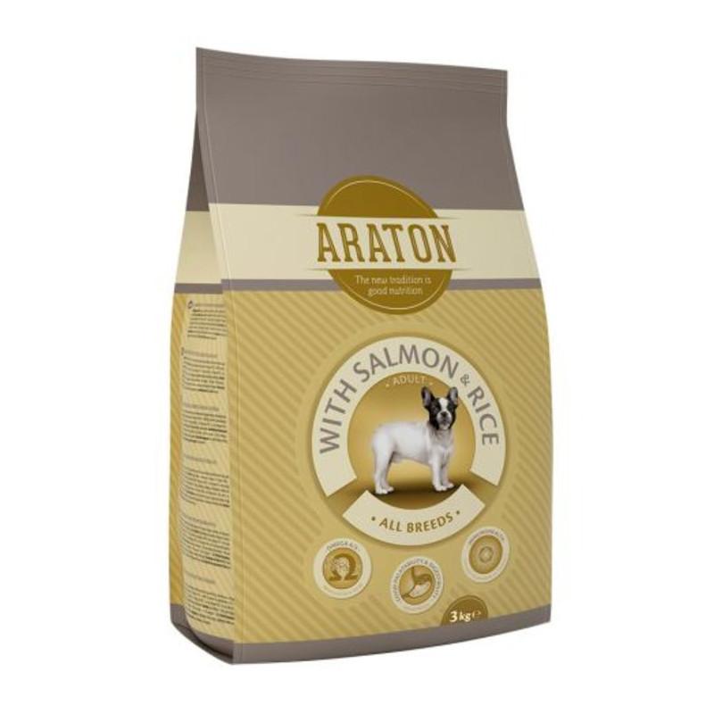Araton (Аратон) Adult With Salmon & Rice - сухой корм для взрослых собак всех пород с лососиной и рисом