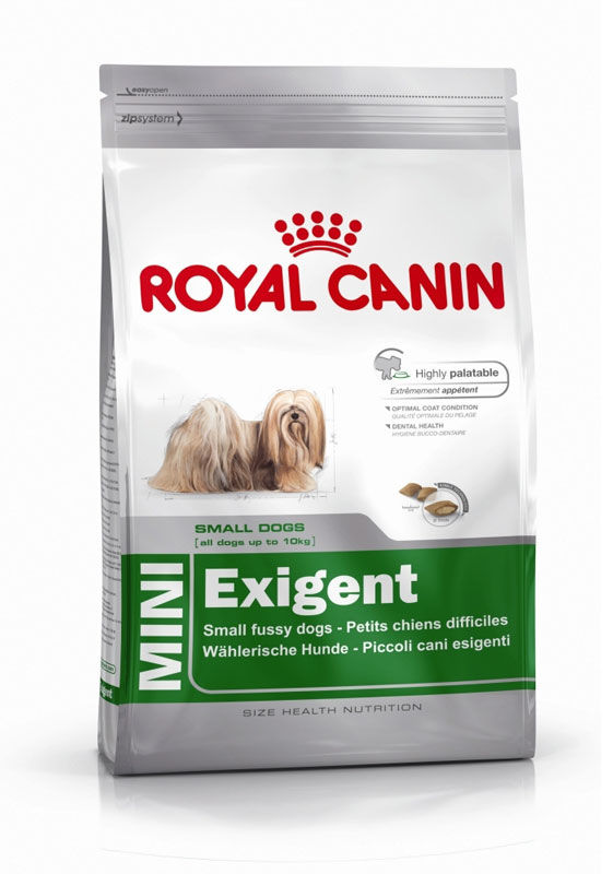 Royal Canin (Роял Канин) Mini Exigent - Сухой корм для собак, привередливых к питанию - Фото 4