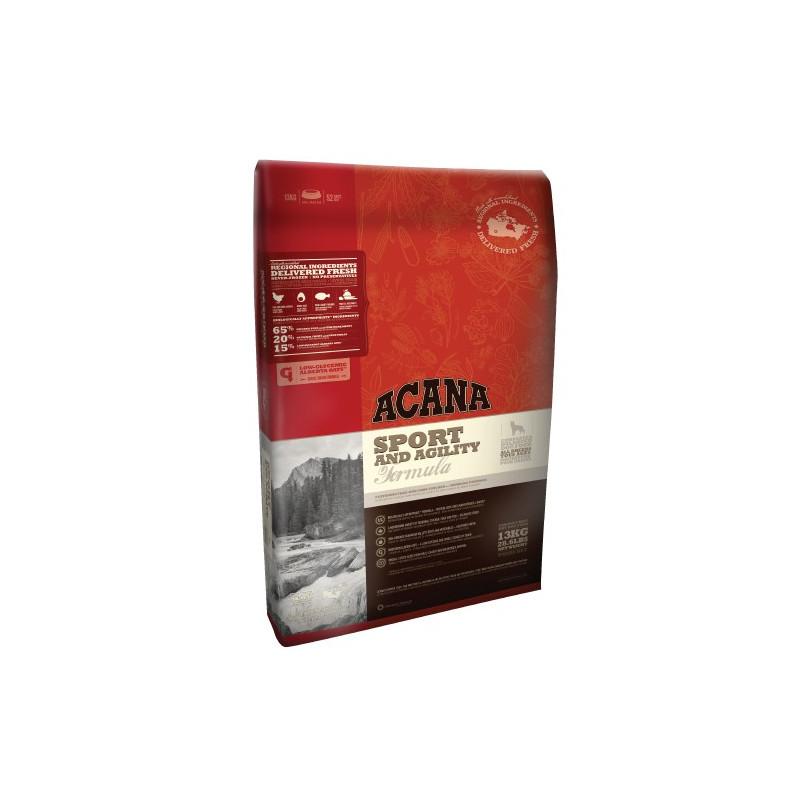 Acana (Акана) Sport & Agility - Сухой корм с мясом цыпленка для активных собак