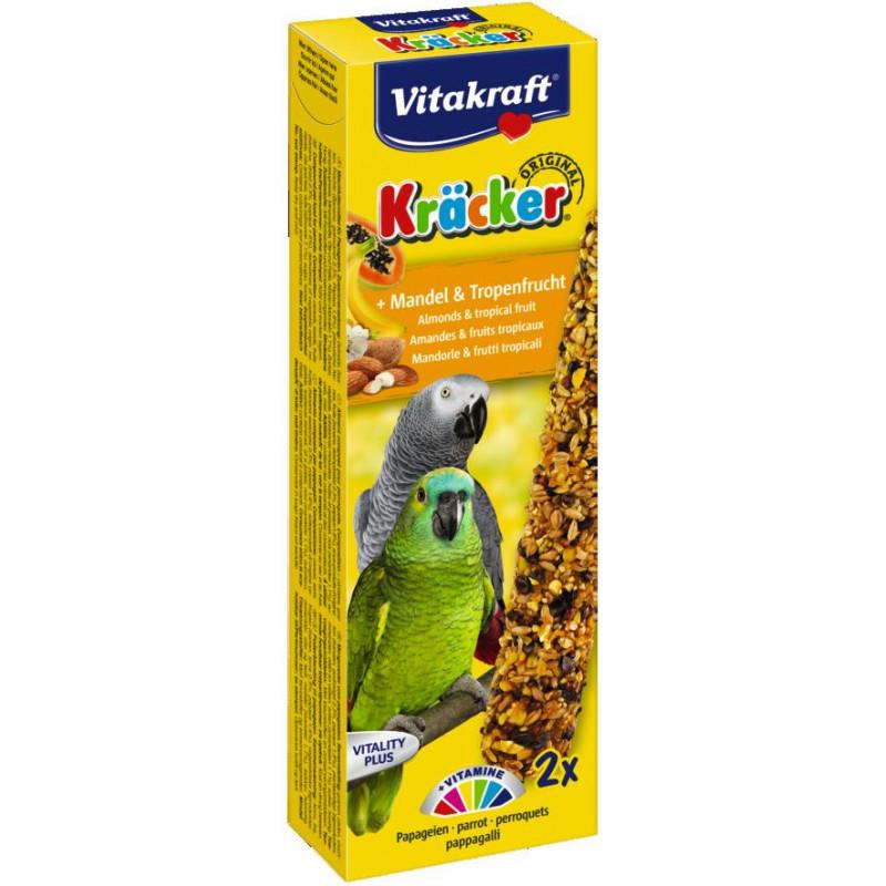 Крекер VITACRAFT для попугаев с мёдом и тропическими фруктами