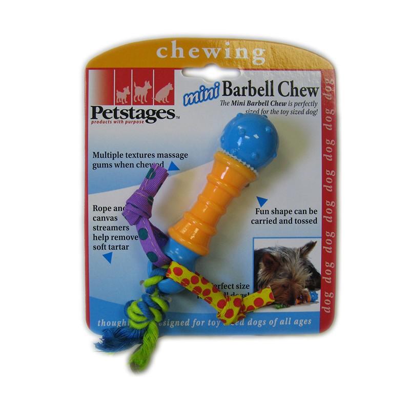 PETSTAGES Mini Barbell Chew Игрушка для собак