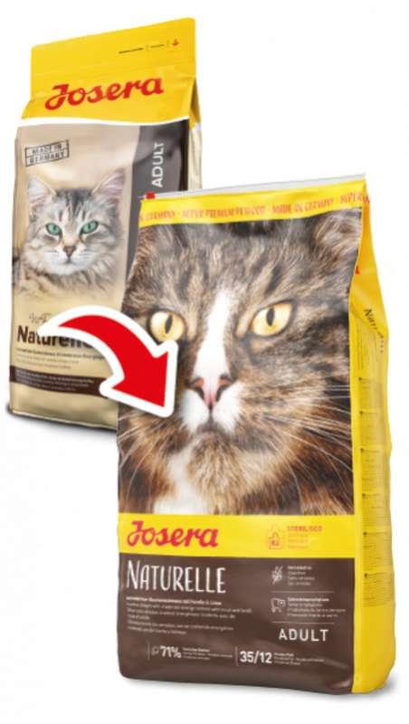 Josera (Йозера) Naturelle Sterilized - Сухой корм с птицей для стерилизованных кошек - Фото 3