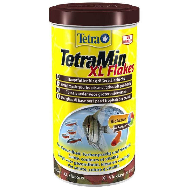 Корм TETRA MIN XL FLAKES для больших рыб в хлопьях