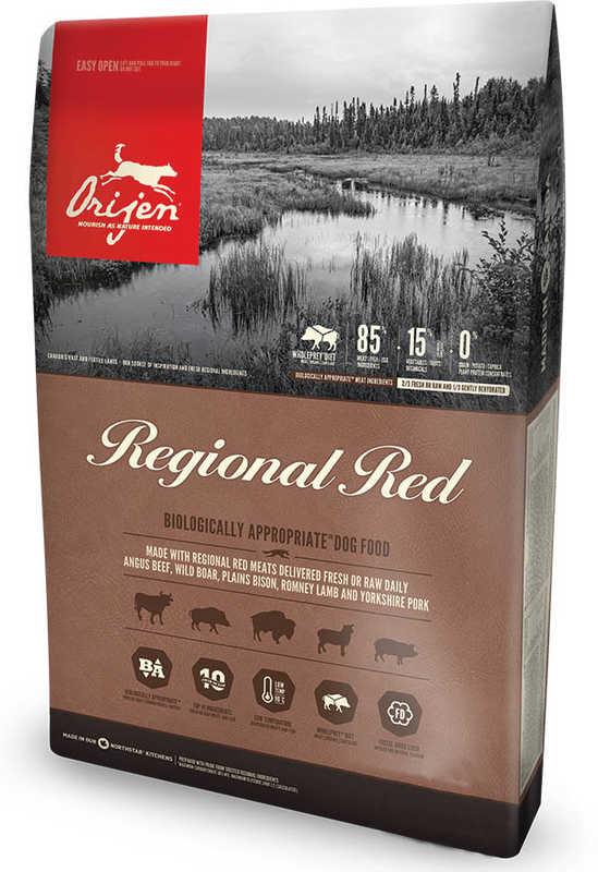 Orijen (Ориджен) REGIONAL RED DOG - Сухой корм для собак различных пород на всех стадиях жизни