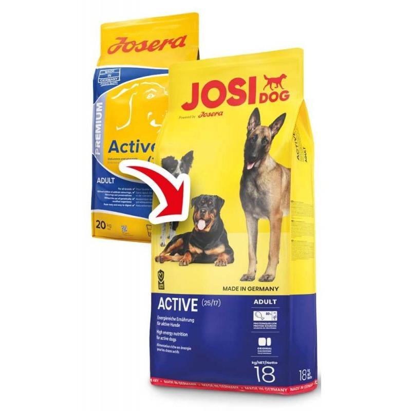 JosiDog (ЙозиДог) by Josera Active. Сухой корм для взрослых активных собак