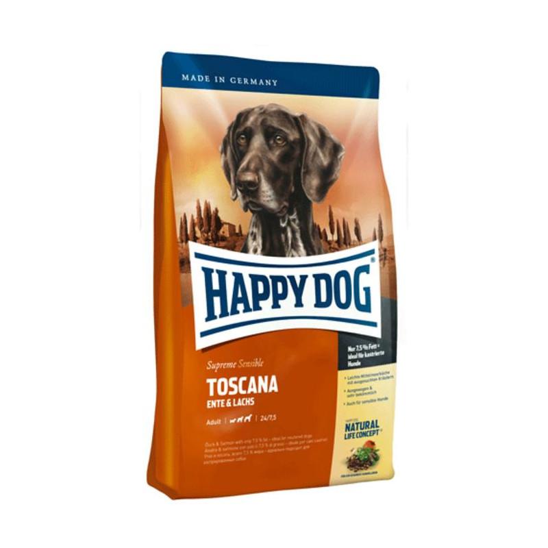 Happy Dog (Хеппи Дог) Supreme Sensible Toscana - Сухой корм для взрослых собак с уткой и лососем