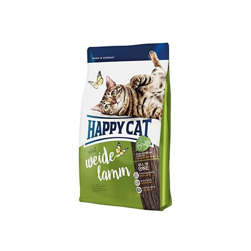 Happy Cat Adult Weide-Lamm- сухой корм для взрослых котов (Пастбищный ягненок)
