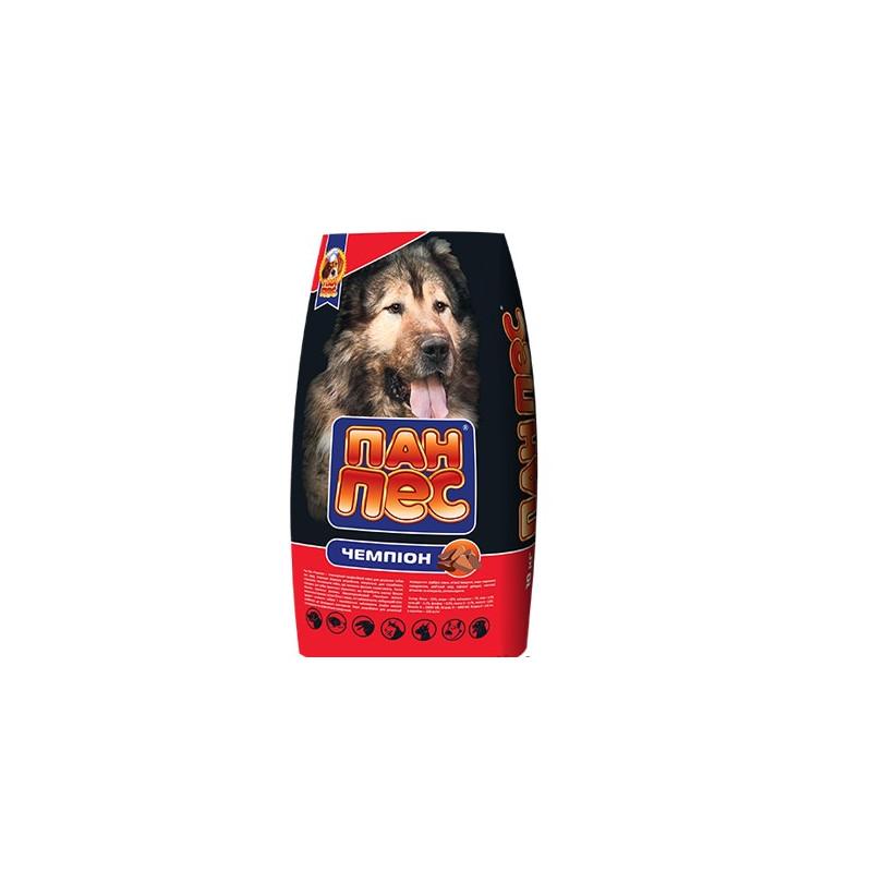 Пан Пес Чемпион - Сухой корм для собак с повышенными физическими нагрузками