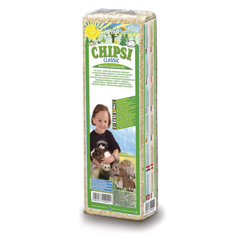 Опилки CHIPSI CLASSIC для грызунов