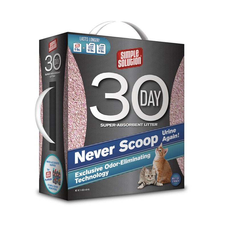 Simple Solution (Симпл Солюшн) 30-day Super absorbent litter - Наполнитель суперабсорбирующий для кошачьего туалета