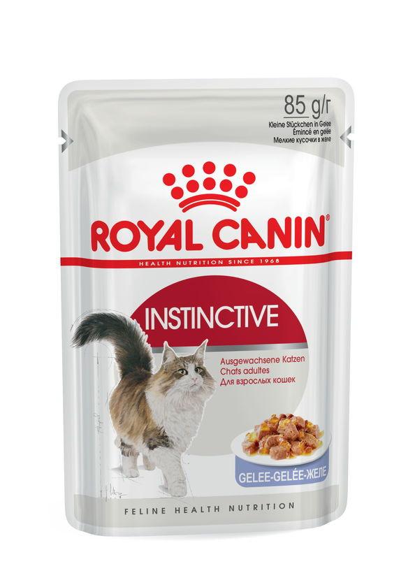 Royal Canin (Роял Канин) Instinctive - Консервированный корм для кошек старше 1 года (кусочки в желе) - Фото 2
