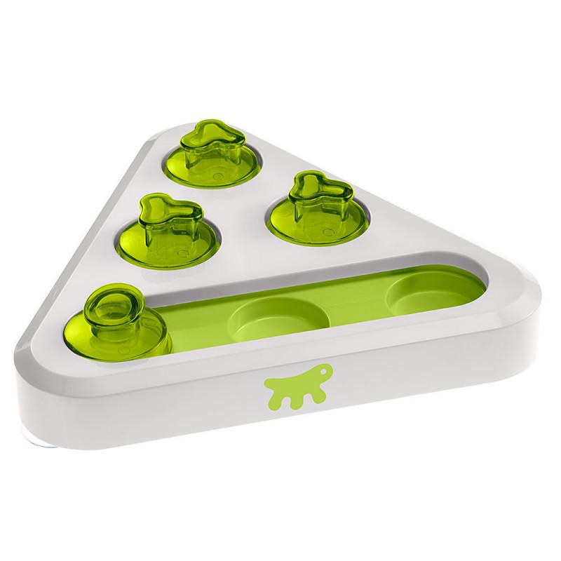 Интерактивная игрушка пластик Ferplast Trea для кошек и собак с тайниками для лакомства