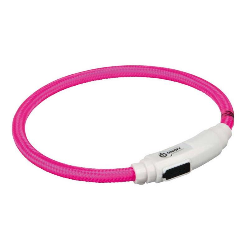 Trixie (Трикси). Ошейник светящийся с USB для котов