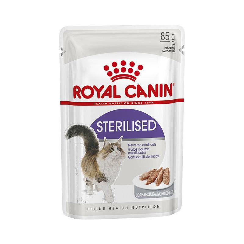 Royal Canin (Роял Канин) STERILISED LOAF. Консервированый корм для взрослых стерилизованых кошек