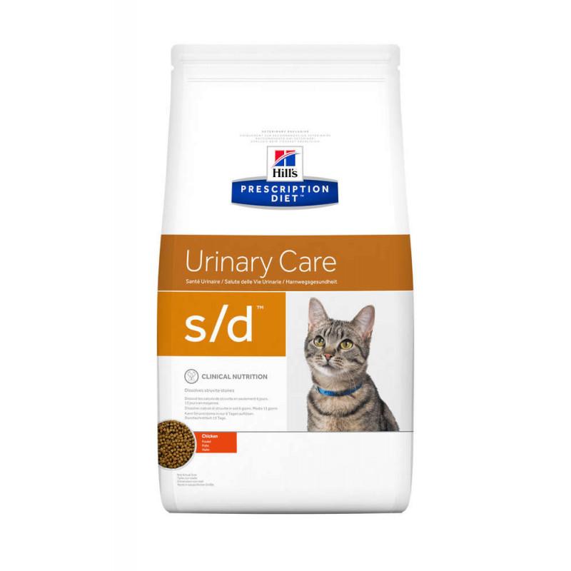 Hill's (Хиллс) Prescription Diet s/d Urinary Care - Корм для кошек курицей ЗДОРОВЬЕ МОЧЕВЫВОДЯЩИХ ПУТЕЙ