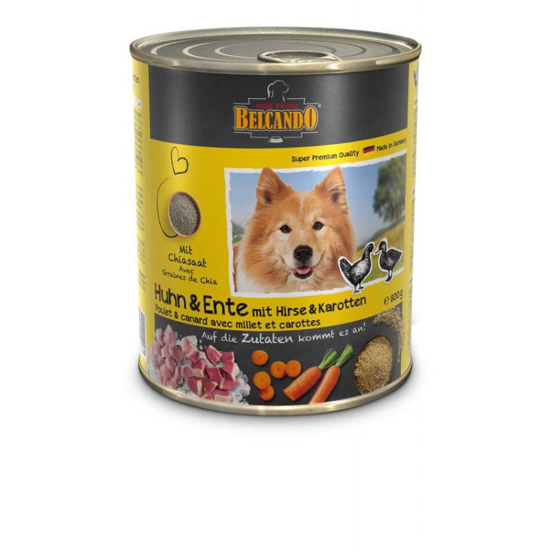 Belcando с курицей, уткой , пшеном и морковью Super Premium Quality Влажные консервы для взрослых собак