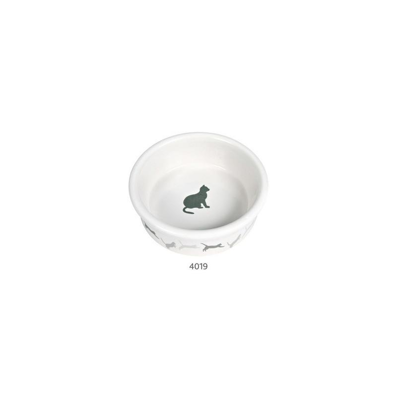 Миска Trixie Силуэт керамика для кошек