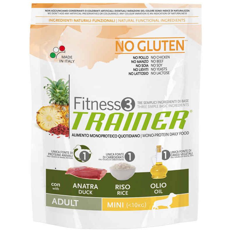 Trainer (Трейнер) Fitness 3 Adult Mini With Duck Rice Oil- Сухой корм для взрослых собак маленьких пород (утка)