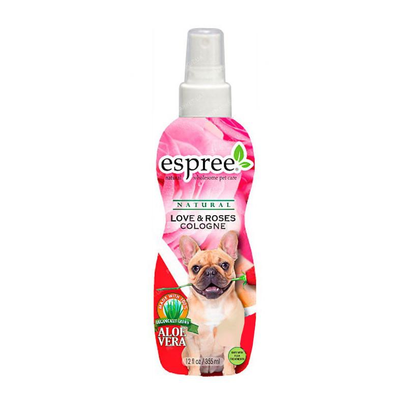 Одеколон ESPREE LOVE & ROSES для собак с ароматом розы