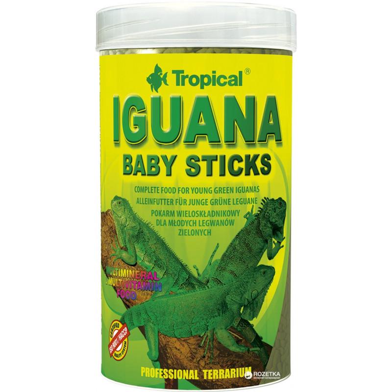 Корм TROPICAL IGUANA BABY STICKS для молодых игуан