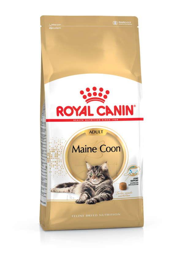 Royal Canin (Роял Канин) Maine Coon Adult. Сухой корм с птицей для взрослых кошек породы Мейн кун - Фото 2