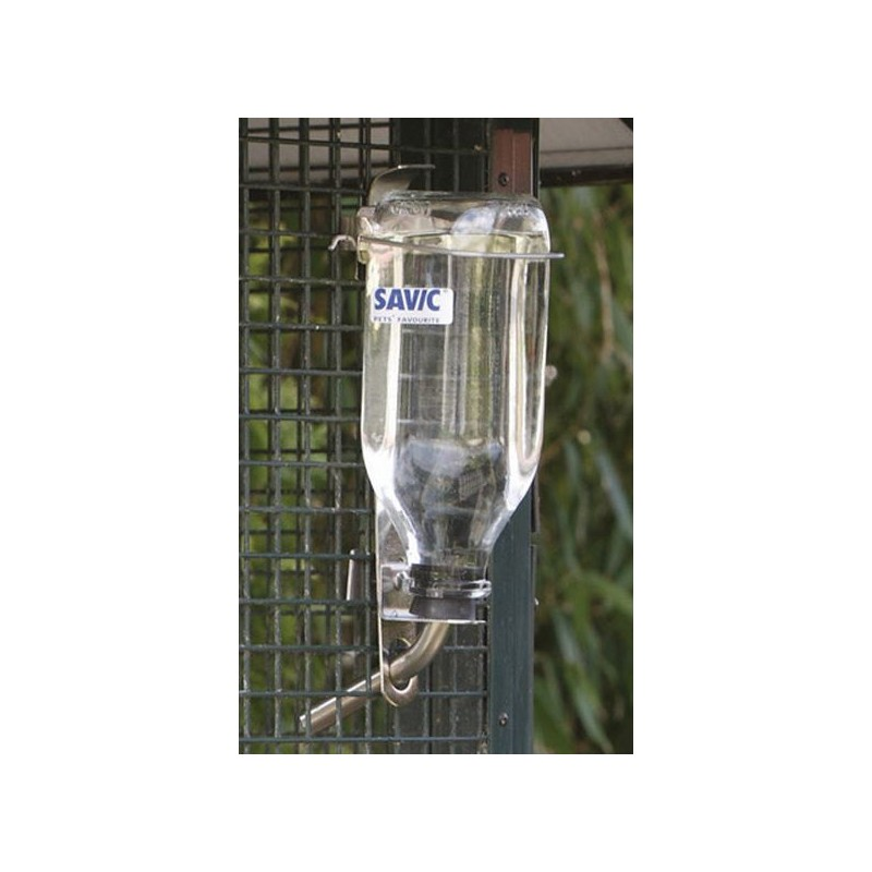 Бутылка с креплением Savic Glass Bottle