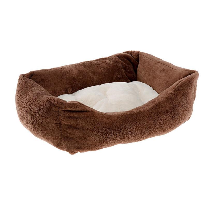 Лежак из искусственного меха FERPLAST Coccolo для кошек и собак маленьких пород
