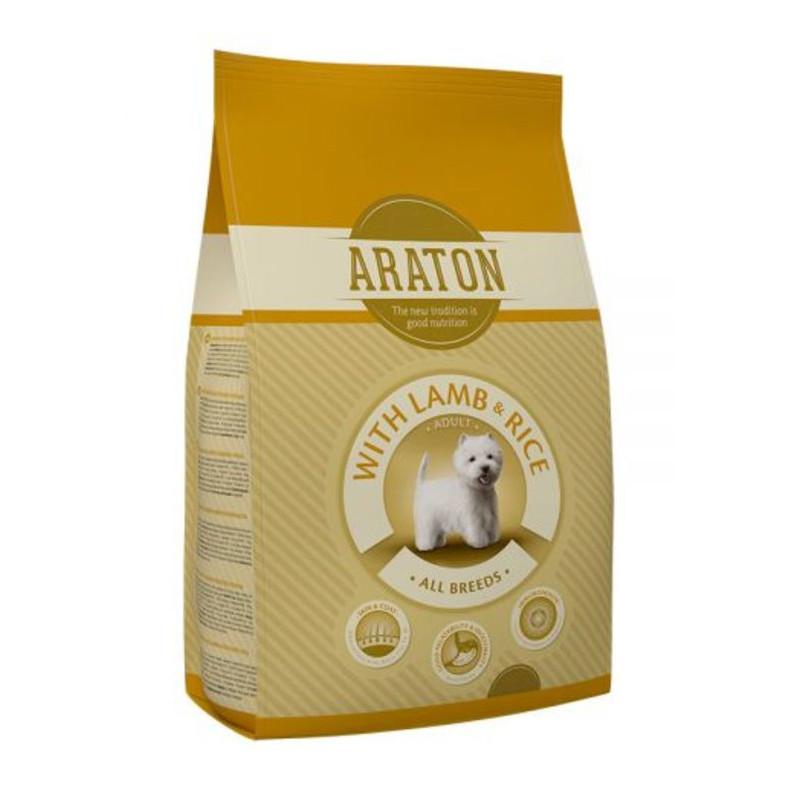 Araton (Аратон) Adult With Lamb & Rice - сухой корм для взрослых собак всех пород с ягненком и рисом