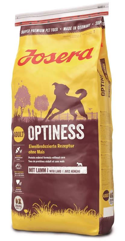 Josera (Йозера) Optiness. Сухой корм для взрослых собак со сниженным содержанием белка