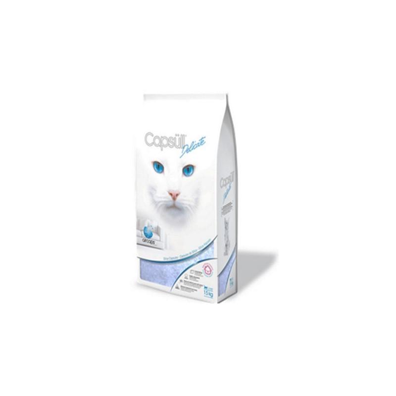 Capsüll (Капсуль) Delicate кварцевый впитывающий наполнитель для туалетов