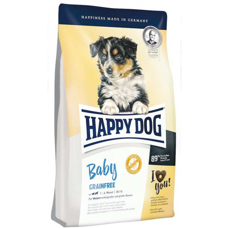 Happy Dog (Хеппи Дог) Baby Grainfree - Сухой беззерновой корм с картофелем и домашней птицей для щенков всех пород собак с чувствительным пищеварением