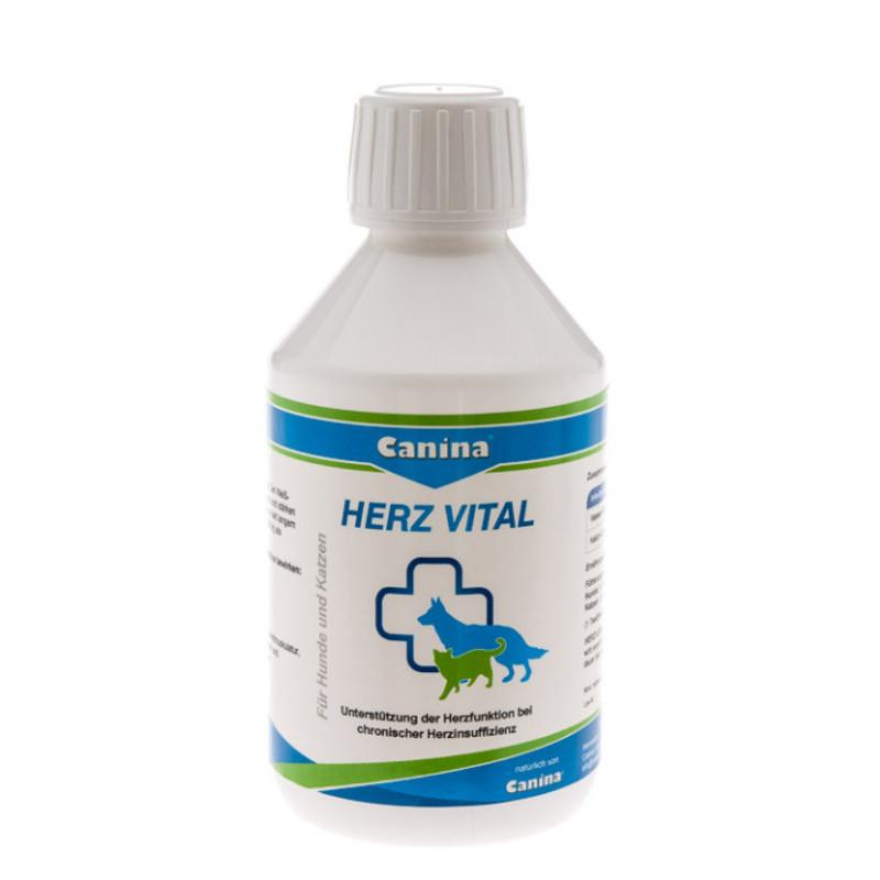 Жидкость Canina Herz-Vital -правильная работа сердца для кошек и собак