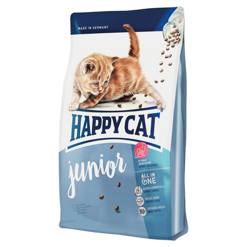 Happy Cat (Хеппи Кэт) Junior - Сухой корм с птицей для котят