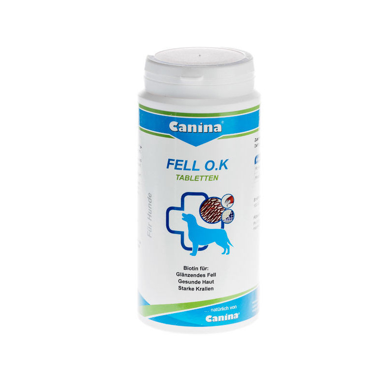 Canina (Канина) Fell O.K - Таблетки с биотином для собак