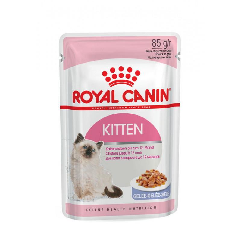Royal Canin (Роял Канин) Kitten Instinctive - Консервированный корм для котят (кусочки в желе)