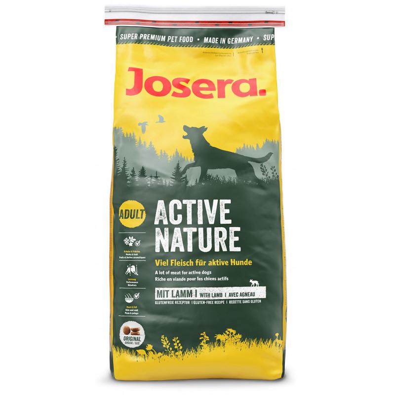 Josera (Йозера) Dog Adult Active Nature - Сухой корм с травами и фруктами для взрослых активных собак