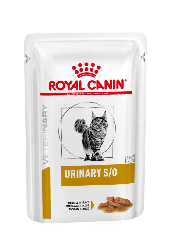 Royal Canin (Роял Канин) Urinary S/O - Консервированный корм кусочками для кошек при заболевании мочевыделительной системы