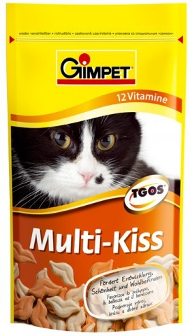 "GimCat (ДжимКэт) Every Day Multi-Vitamin Tabs - Таблетки для взрослых котов и кошек ""Мультивитамин"" - Фото 2"