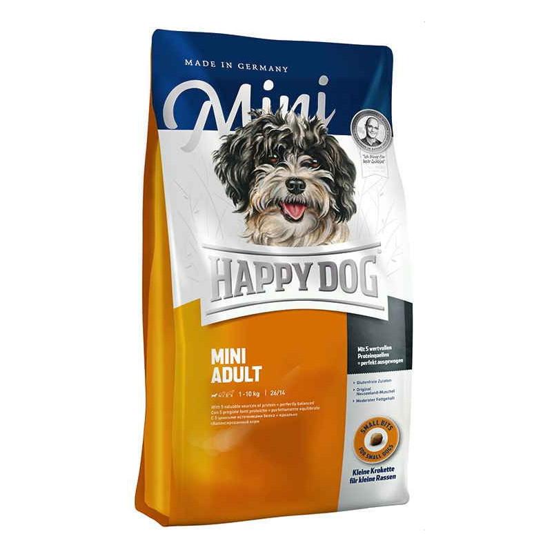 Happy Dog (Хеппи Дог) Mini Adult - Сухой корм с домашней птицей для взрослых собак мелких пород