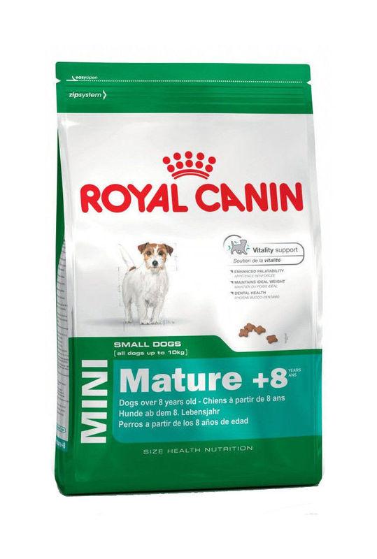 Royal Canin Mini Mature 8 для собак возрастом от 8 до 12 лет
