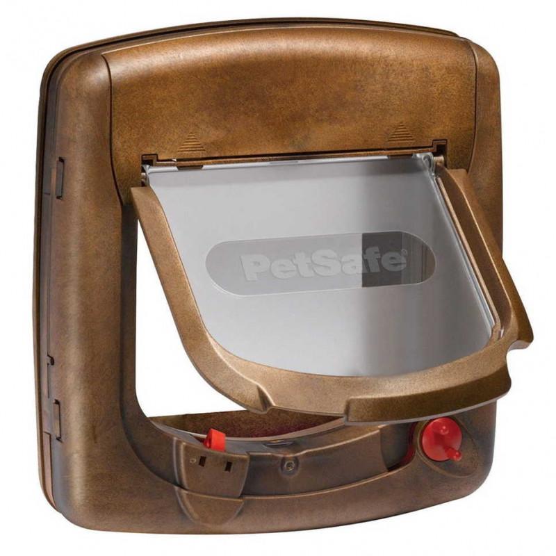 PetSafe (ПетСейф) Staywell Magnetic 4-Way Locking Deluxe Cat Flap - Дверцы для котов с программным ключом