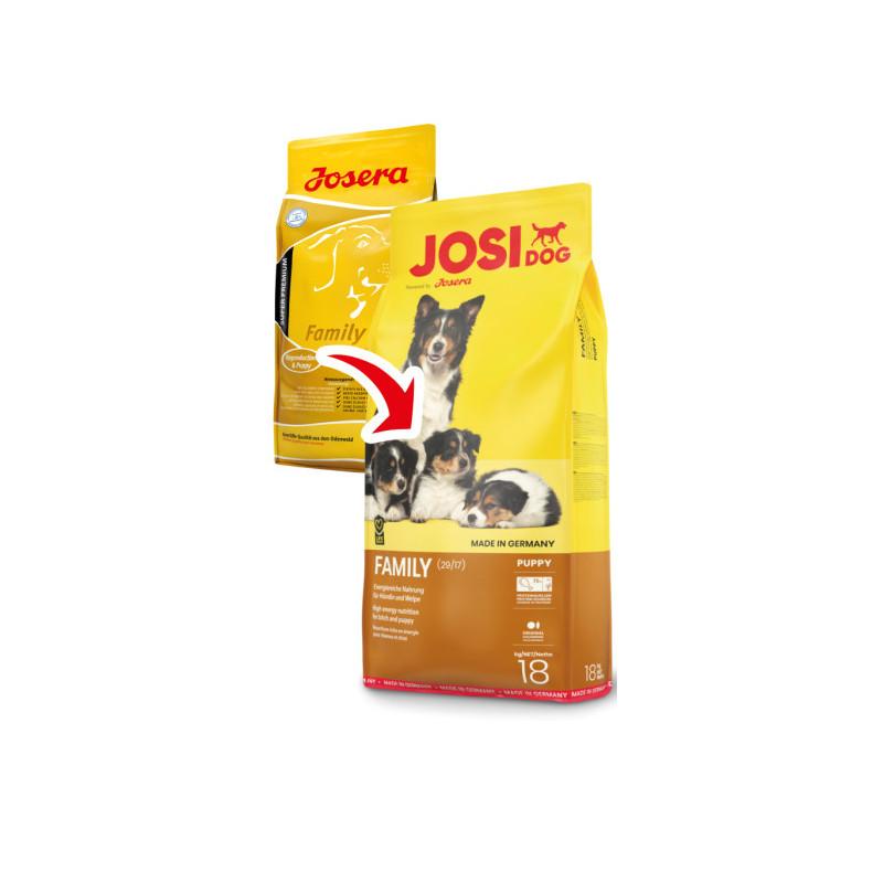 JosiDog (ЙозиДог) by Josera Family. Сухой корм Фемили для щенков и кормящих самок