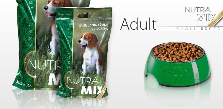 Nutra Mix Gold (Нутра Микс Голд) Adult Small Breed Chicken & Rice - Сухой корм с курицей для взрослых собак маленьких и карликовых пород