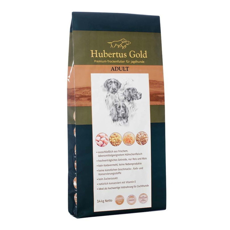 Hubertus Gold (Хьюбертус Голд) Adult - Сухой корм с курицей для взрослых собак