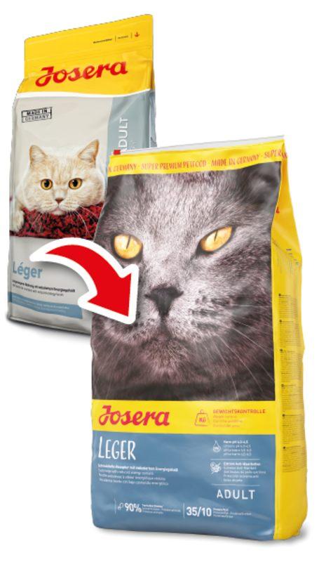 Josera (Йозера) Leger. Сухой корм с птицей для кошек с лишним весом - Фото 2