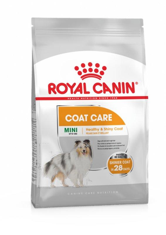 Royal Canin (Роял Канин) Mini Coat Care - Сухой корм для собак малых пород с тусклой и сухой шерстью