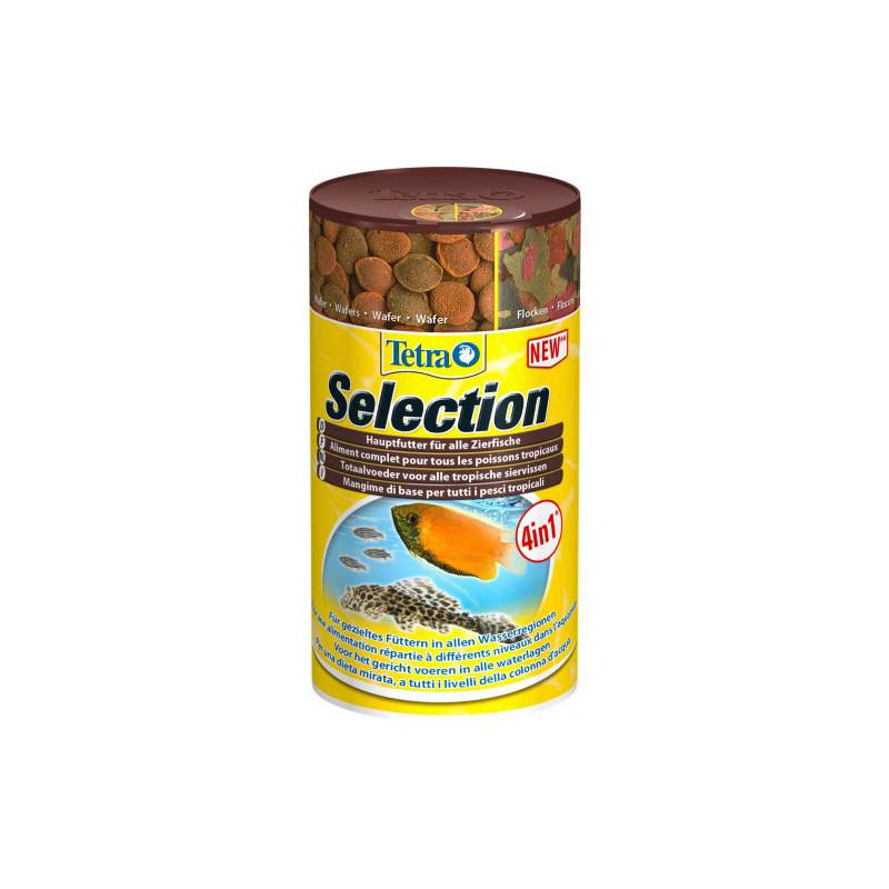 Корм-набор TETRA SELECTION 4 в 1 для аквариумных рыб