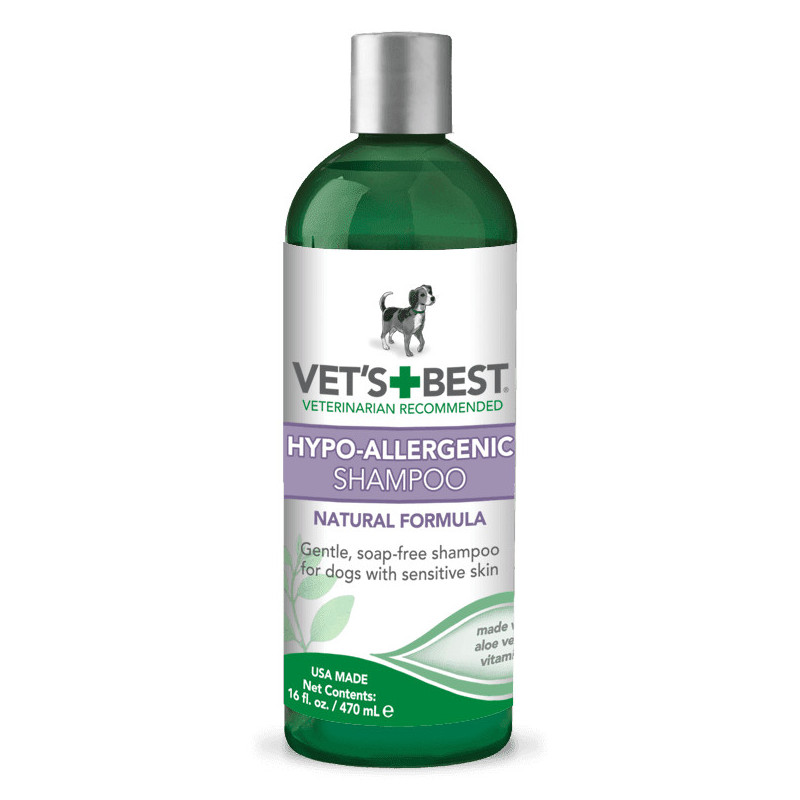 VET`S BEST (Ветс Бест) Hypo-Allergenic Shampoo Шампунь гипоаллергенный, для чувствительной кожи
