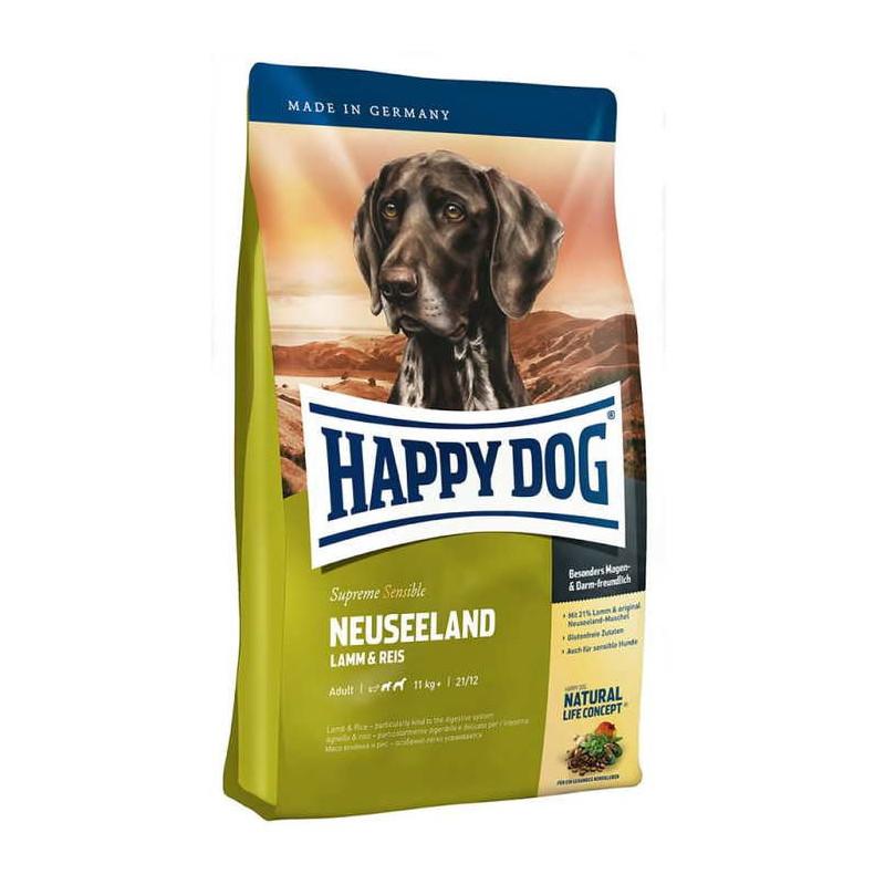 Happy Dog (Хеппи Дог) Supreme Sensible Neuseeland - Сухой гипоаллергенный корм для взрослых собак с ягнёнком