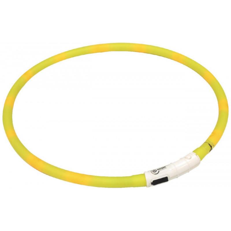 Светящийся ошейник Croci USB Flash Light Band для собак